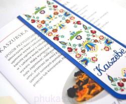 Zakładka Do Książki Kaszubska Magnetyczna Kaszebe Phu