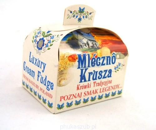 Tradycyjne krówki kaszubskie Mleczno Krusza kuferek 300 g